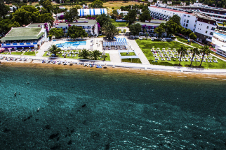 LADONIA HOTELS BLUE WHITE